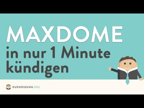 Maxdome Abo kündigen - in genau 1 Minute erledigt!