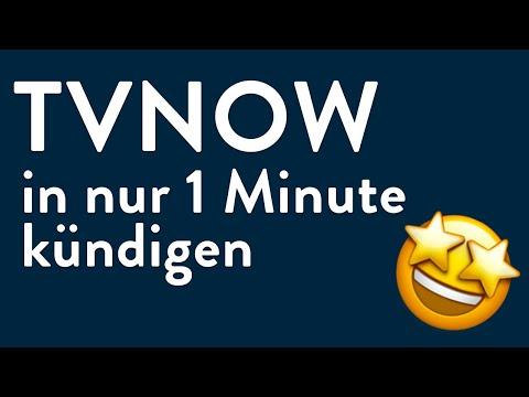 TVNOW kündigen - in genau 1 Minute erledigt!