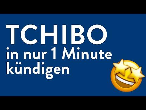Tchibo kündigen - in genau 1 Minute erledigt!