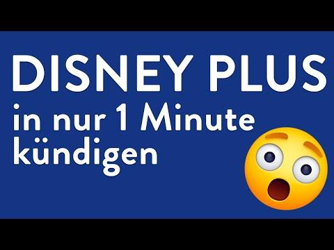Disney Plus kündigen - in genau 1 Minute erledigt!