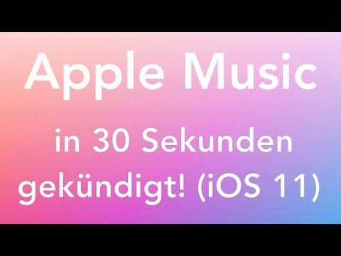 Apple Music per App kündigen (iOS 11) - in nur 30 Sekunden erledigt!