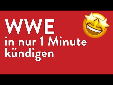 WWE kündigen - in genau 1 Minute erledigt!