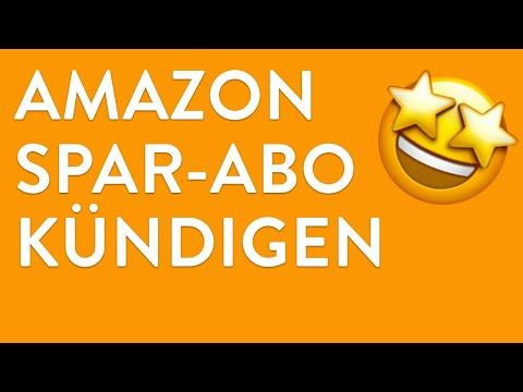 Amazon Spar-Abo online kündigen - in nur 1 Minute erledigt!
