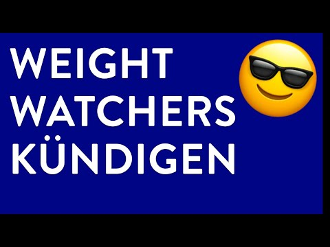 Weight Watchers kündigen - in genau 1 Minute erledigt!