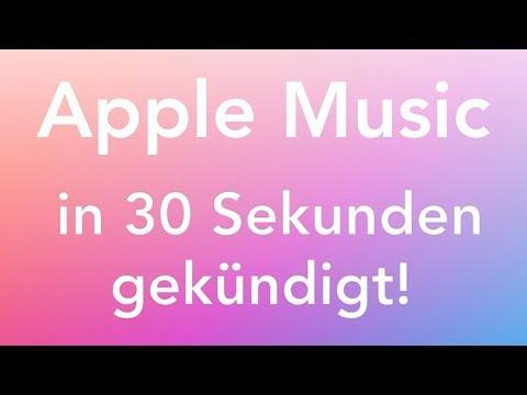 Apple Music über Mac/iTunes kündigen in nur 30 Sekunden!