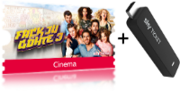 Sky Entertainment + Cinema Ticket + TV Stick