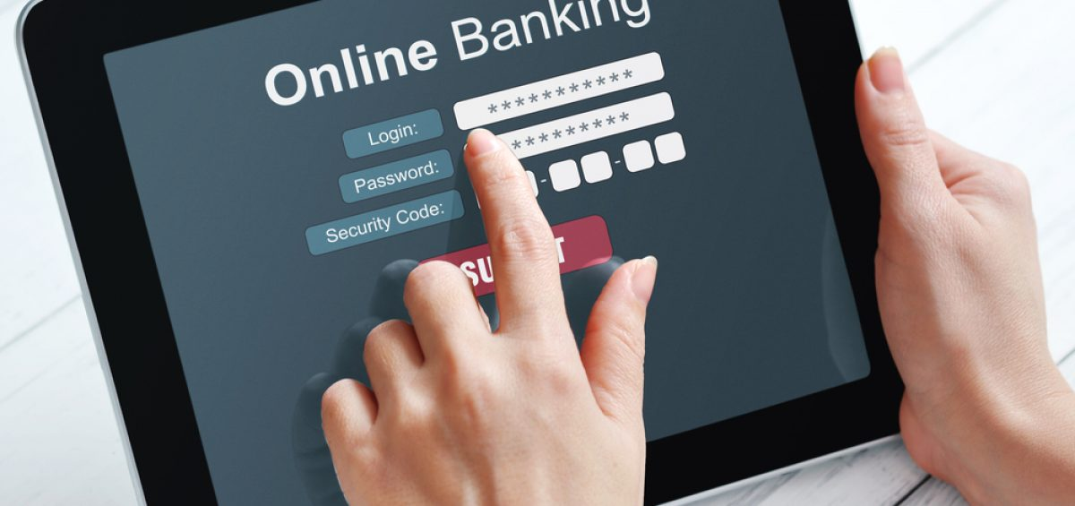 Online Bank Login der Bank of Scotland