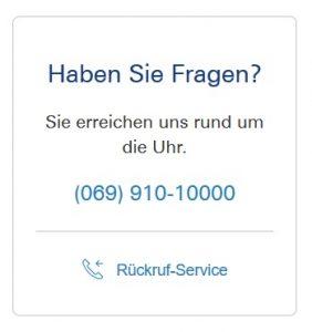 Deutsche Bank Kundenservice