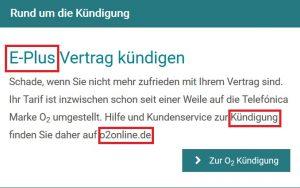 E-plus Kundenservice