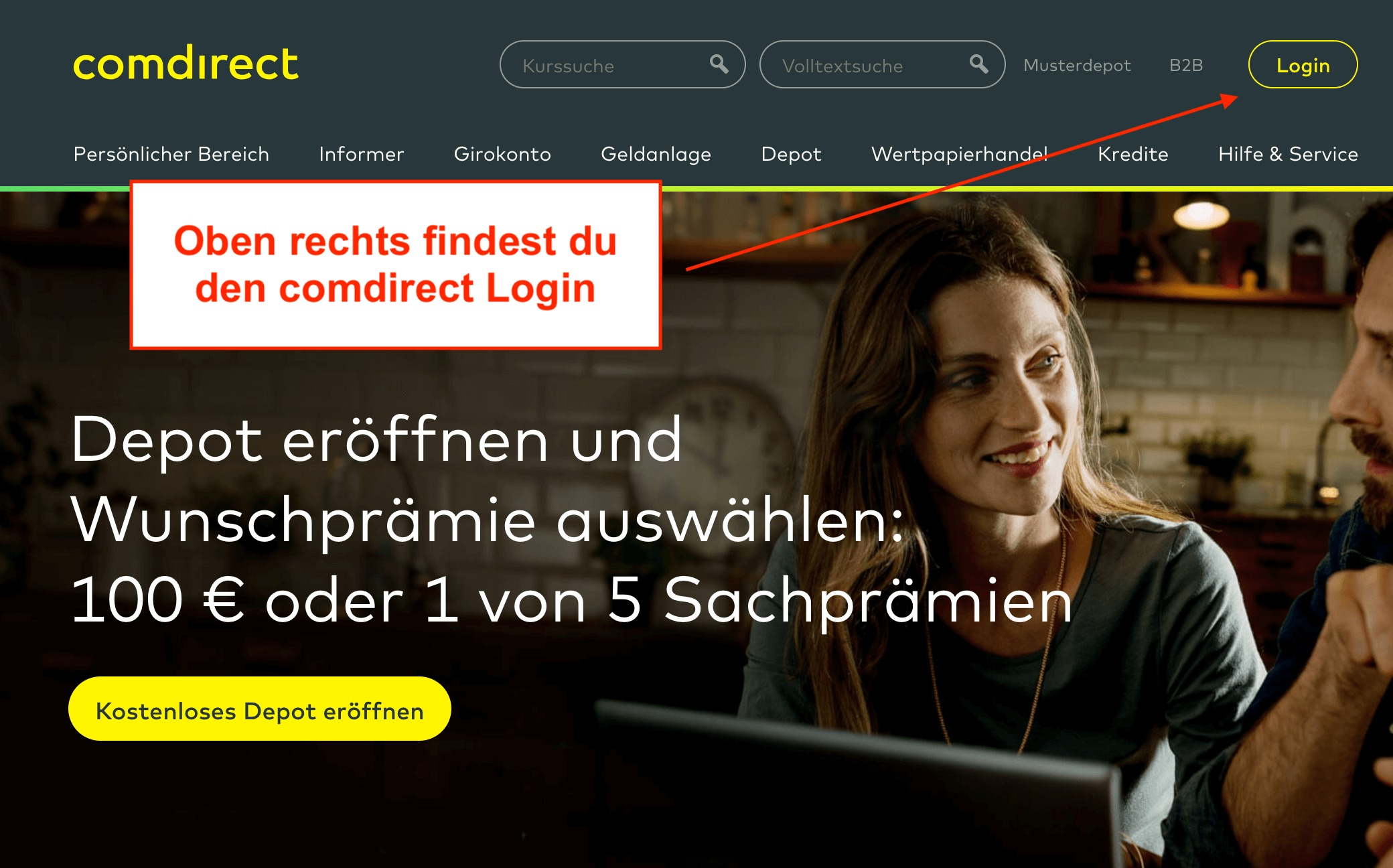 comdirect Login
