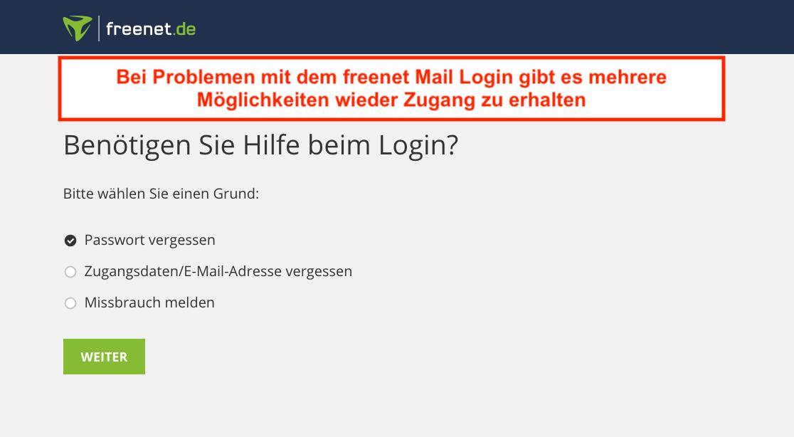 de mail login