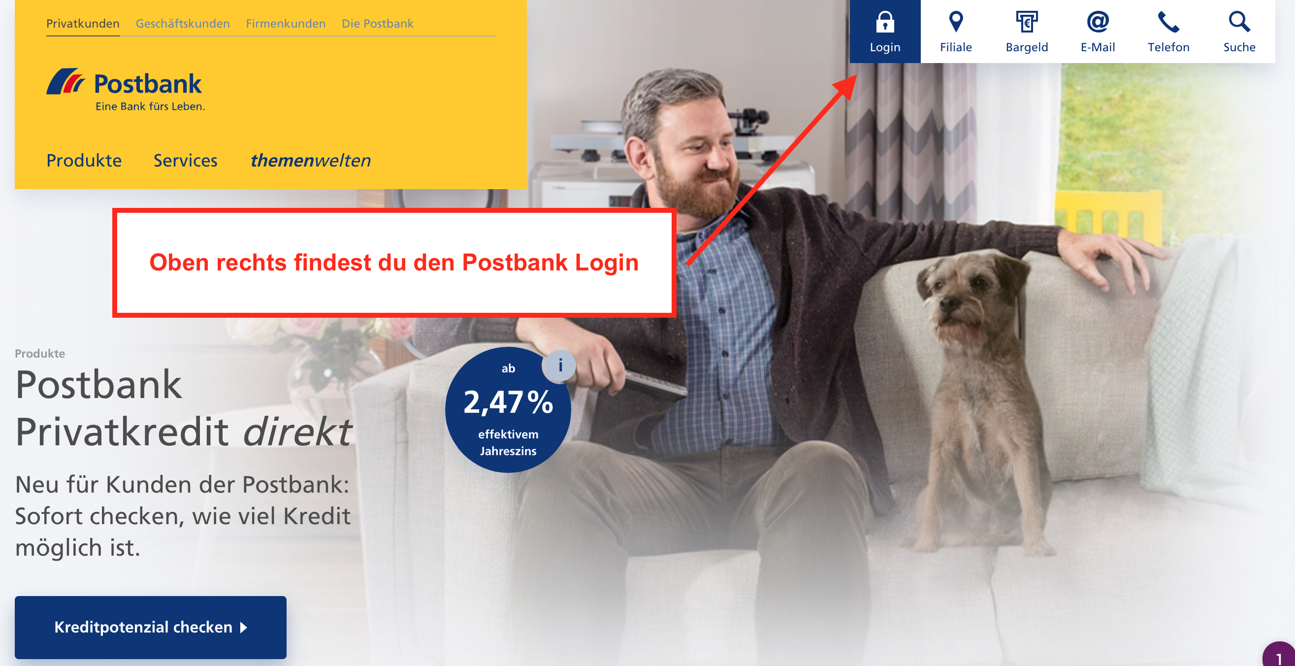Postbank Login
