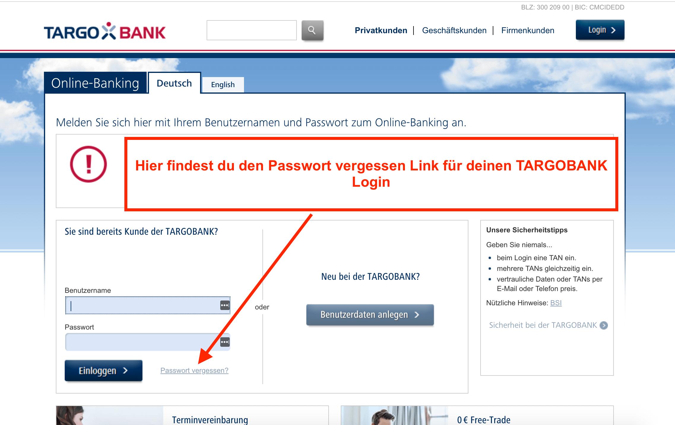 Targobank Online Banking Probleme