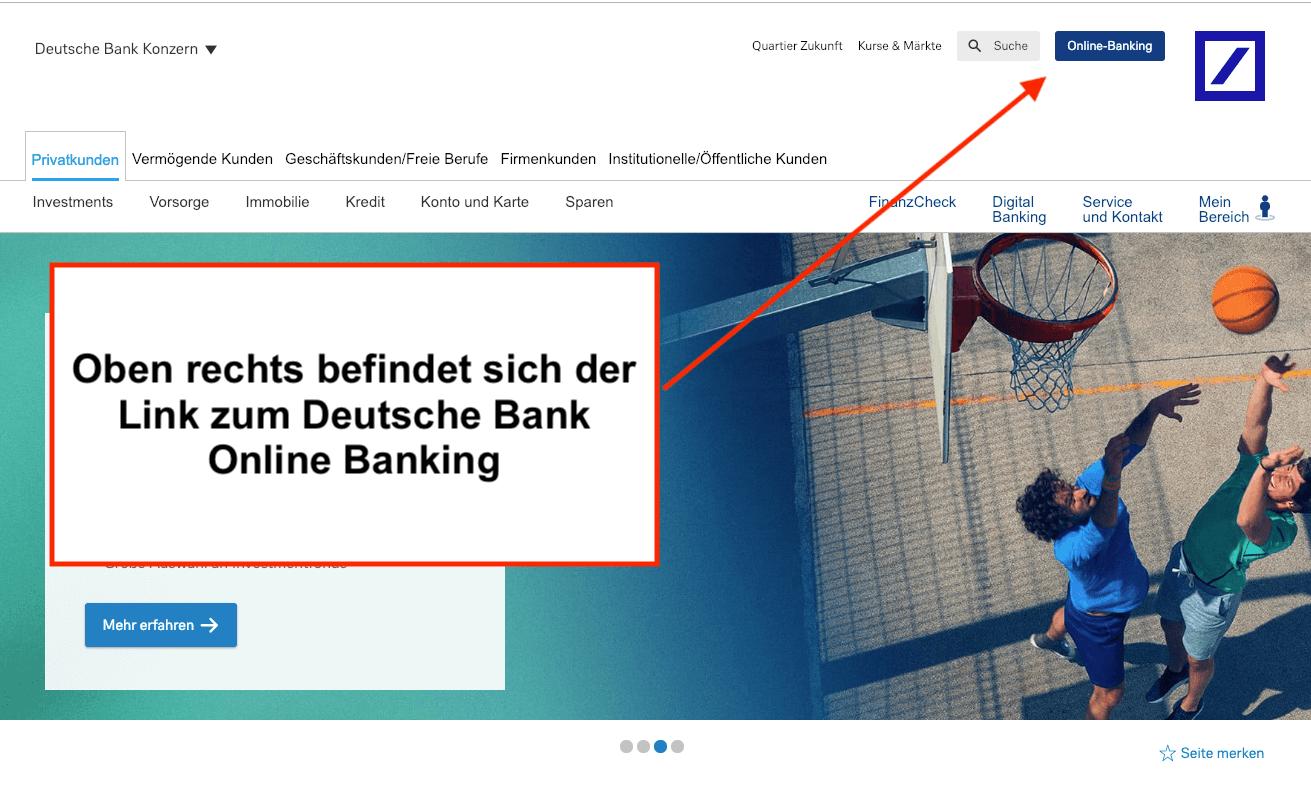 Deutsche Bank Online Banking Login ▷ Direkt zum Banking Login