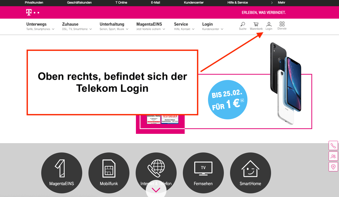 Telekom Login