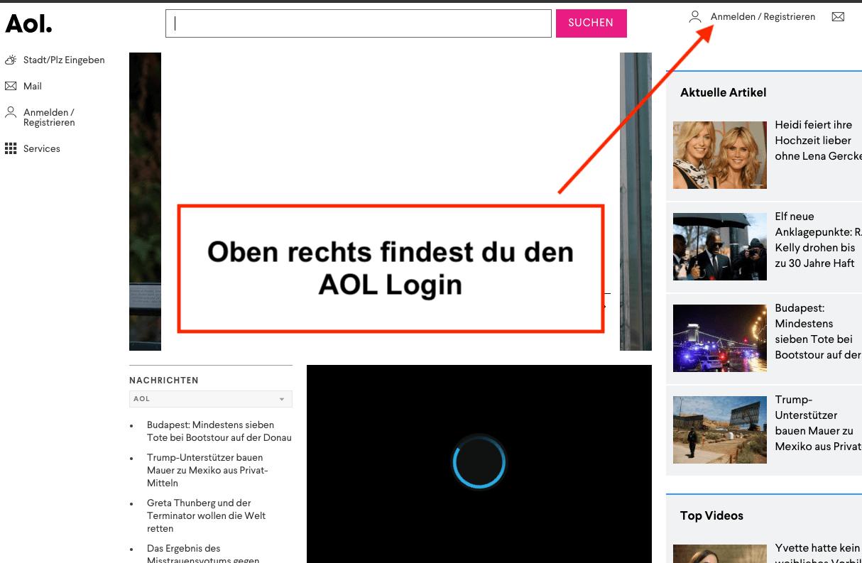 AOL Login