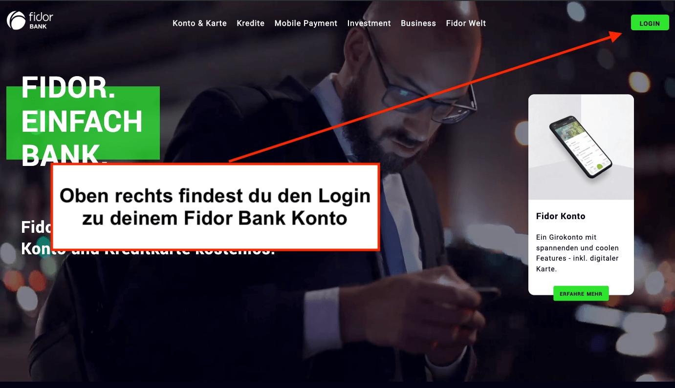 Kündigung Fidor Bank